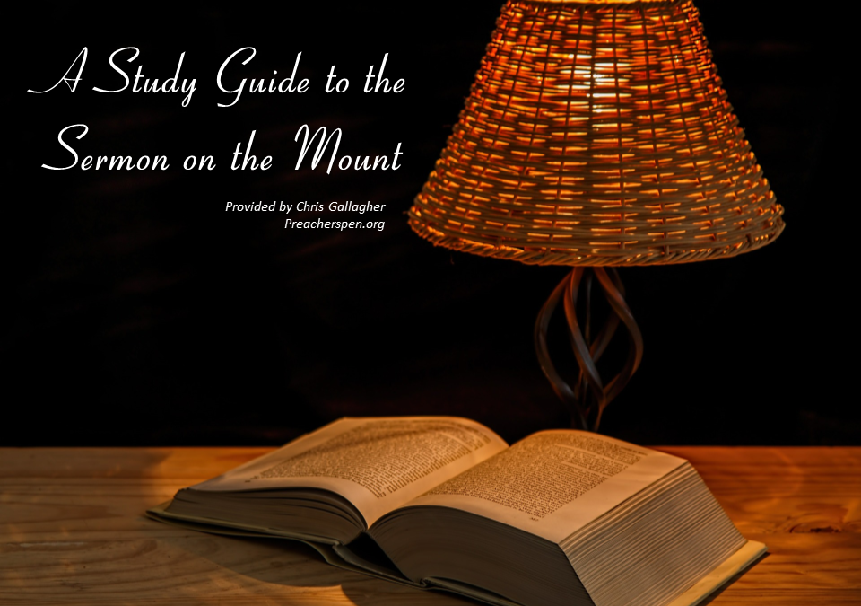 Free Sermon on the Mount Study Guide + BONUS