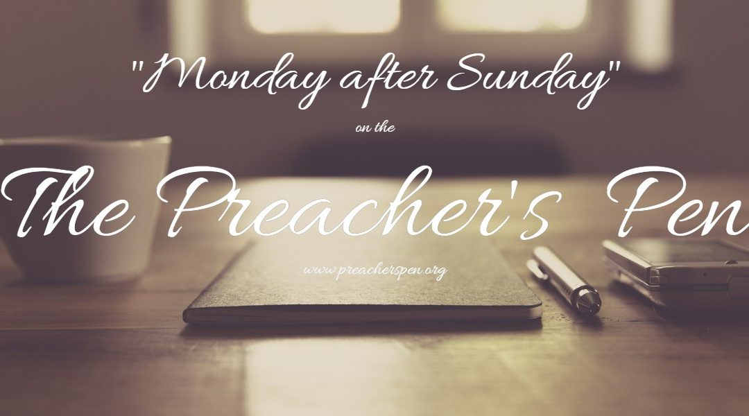 "September 24th, 2018 – ""Monday after Sunday"""