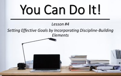"""You Can Do It"" Video Class – Lesson #4"
